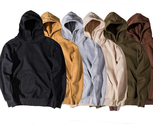 Stylish High End Mens Oversized Pullover Hoodie Support Creat Your Own Brand